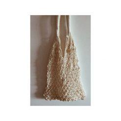 Toreba Shopper BALA White Net Bag. Białe shopper bag damskie Bala-lifestyle, z breloczkiem. Za 129,00 zł.