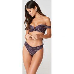 J&K Swim X NA-KD Dół bikini Folded - Purple,Multicolor. Fioletowe bikini marki J&K Swim x NA-KD. Za 72,95 zł.