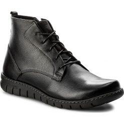 Botki LASOCKI - BOGNA-05 Czarny. Czarne buty zimowe damskie Lasocki, ze skóry. Za 179,99 zł.