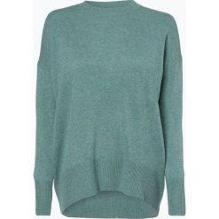 Marie Lund - Damski sweter z wełny merino, zielony. Zielone swetry klasyczne damskie Marie Lund, l, z dzianiny. Za 249,95 zł.