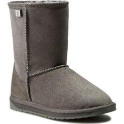 Buty EMU AUSTRALIA - Platinum Stinger Lo WP10002 Charcoal. Szare buty zimowe damskie marki EMU Australia, ze skóry, na niskim obcasie. Za 769,00 zł.