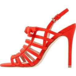 Sandały damskie: Miss Selfridge CHATTER Sandały na obcasie red