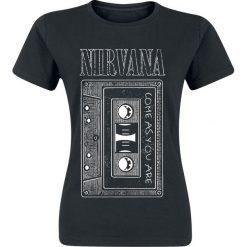 Nirvana As You Are Tape Koszulka damska czarny. Czarne bluzki asymetryczne Nirvana, xl, z nadrukiem, z bawełny, rockowe, z okrągłym kołnierzem. Za 74,90 zł.
