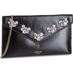 Torebka GUESS - HWVG71 11280  BLA. Czarne torebki klasyczne damskie marki Guess, z aplikacjami, ze skóry ekologicznej. Za 449,00 zł.