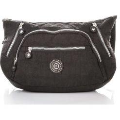Czarna lekka damska torebka listonoszka na ramię. Czarne listonoszki damskie Bag Street, w paski, na ramię. Za 59,90 zł.