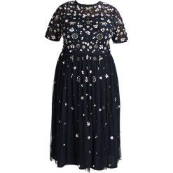 Sukienki hiszpanki: Lace & Beads Curvy BABY Sukienka letnia navy