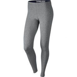 Legginsy sportowe damskie NIKE LEG-A-SEE LEGGING / 806927-091 - NIKE LEG-A-SEE LEGGING. Szare legginsy we wzory Nike. Za 79,00 zł.