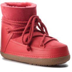 Buty INUIKII - Boot Classic 70101-7 Red. Czerwone buty zimowe damskie Inuikii, ze skóry, na niskim obcasie. Za 1269,00 zł.