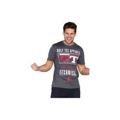 T-shirt krótki rękaw męski z printem. Szare t-shirty męskie marki TXM, z dresówki. Za 14,99 zł.
