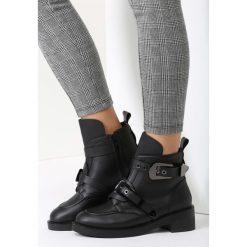 Czarno-Srebrne Botki Good Times. Czarne buty zimowe damskie vices. Za 119,99 zł.
