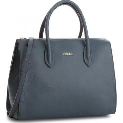 Torebka FURLA - Pin 978707 B BMJ9 OAS Ardesia e. Niebieskie torebki klasyczne damskie Furla, ze skóry. Za 1355,00 zł.