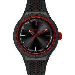 Zegarki damskie: Zegarek kwarcowy w kolorze czarno-czerwonym