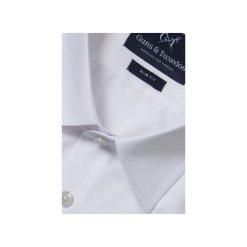 KOSZULA WHITE CLASSIC. Brązowe koszule męskie na spinki marki QUECHUA, m, z elastanu, z krótkim rękawem. Za 149,99 zł.
