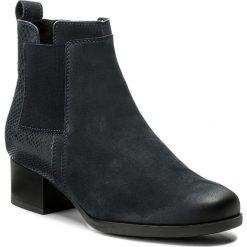 Botki LASOCKI - 1404-02  Granatowy. Czarne buty zimowe damskie marki Lasocki, ze skóry. W wyprzedaży za 125,00 zł.