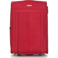Walizka średnia V25-3S-272-30. Czarne walizki marki Wittchen, z gumy, duże. Za 159,00 zł.