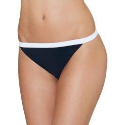 "Bikini: Figi bikini ""Summer Lounge"" w kolorze granatowo-białym"
