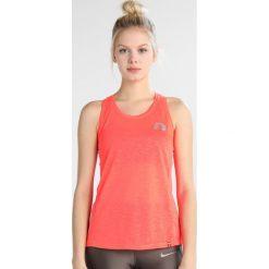 Topy sportowe damskie: Newline IMOTION TANK Koszulka sportowa fluo coral