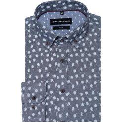 Koszula SIMONE KDWS000328. Szare koszule męskie na spinki Giacomo Conti, m, button down, z długim rękawem. Za 149,00 zł.