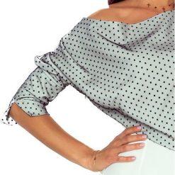 Kombinezon bluzowany- elegancki kombinezon z efektownym wiązaniem. Szare kombinezony eleganckie marki Reserved. Za 240,00 zł.