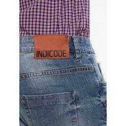 INDICODE JEANS HALMSTAD Jeansy Slim Fit blue wasch. Niebieskie jeansy męskie relaxed fit marki INDICODE JEANS, z bawełny. Za 219,00 zł.
