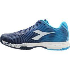 Diadora COMPETITION 4 AG Obuwie do tenisa Outdoor fluo blue/estate blue/white. Niebieskie buty do tenisa męskie Diadora, z materiału. W wyprzedaży za 377,10 zł.