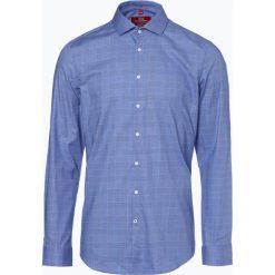 Finshley & Harding London - Koszula męska, niebieski. Białe koszule męskie na spinki marki DRYKORN, m. Za 149,95 zł.