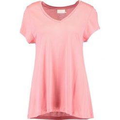 T-shirty damskie: Kaffe ANNA V NECK  Tshirt basic bright rose