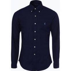 Polo Ralph Lauren - Koszula męska, niebieski. Niebieskie koszule męskie Polo Ralph Lauren, m, z haftami, z kontrastowym kołnierzykiem. Za 349,95 zł.