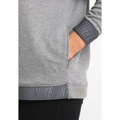 Bluzy rozpinane damskie: Nike Performance DRY CREWNECK  Bluza carbon heather/dark grey
