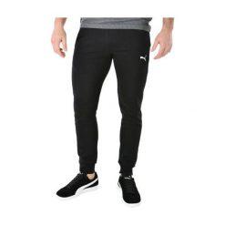 Spodnie męskie: Puma Spodnie męskie  ESS Sweat Pants SLIM czarne r. S (838266 01)