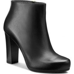 Botki GINO ROSSI - Serena DBH225-S82-0005-9900-0 99. Czarne buty zimowe damskie marki Gino Rossi, ze skóry, na obcasie. W wyprzedaży za 419,00 zł.