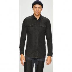 Guess Jeans - Koszula. Szare koszule męskie jeansowe marki Guess Jeans, l, z aplikacjami. Za 399,90 zł.