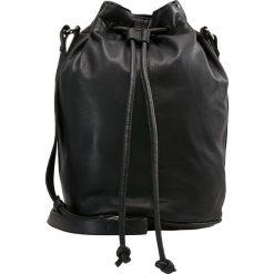 Moss Copenhagen BUCKET BAG Torba na ramię black. Czarne torebki klasyczne damskie Moss Copenhagen. Za 459,00 zł.