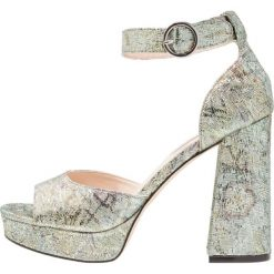 Sandały damskie: Miss Selfridge CRUSH Sandały na obcasie dark green