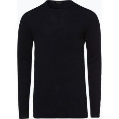 Selected - Sweter męski – Rocky, niebieski. Niebieskie swetry klasyczne męskie Selected, l, z dzianiny. Za 179,95 zł.