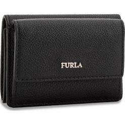 Mały Portfel Damski FURLA - Babylon 962286 P PZ12 OAS Onyx. Czarne portfele damskie marki Furla, ze skóry. Za 435,00 zł.
