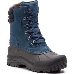 Śniegowce CMP - Kinos Snow Boots Wp 3Q48867 77AA. Czarne botki męskie CMP, z materiału. Za 399,99 zł.