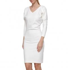 Sukienka w kolorze kremowym. Białe sukienki marki YULIYA BABICH, xs, midi. W wyprzedaży za 269,95 zł.