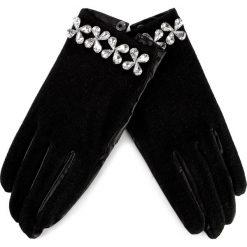 Rękawiczki Damskie GUESS - Not Coordinated Wool AW6814 WOL02 BLA. Czarne rękawiczki damskie Guess, ze skóry ekologicznej. W wyprzedaży za 119,00 zł.