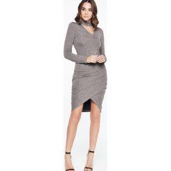 Sukienki dzianinowe: Bardot ALEX Sukienka dzianinowa dark grey