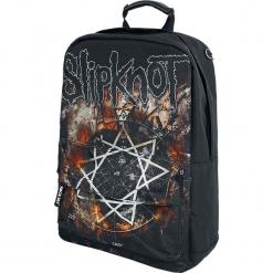 Slipknot Pentagram Plecak czarny. Czarne plecaki męskie marki Slipknot, m, z nadrukiem, z kapturem. Za 144,90 zł.