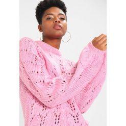 Swetry klasyczne damskie: b.young MONTONI  Sweter bubble gum pink