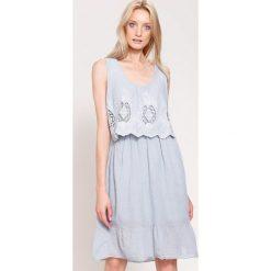 Sukienki: Szara Sukienka Pure Innocent