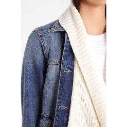 Bomberki damskie: Abercrombie & Fitch Kurtka jeansowa blue denim