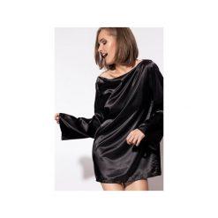 Piżamy damskie: Piżama Simply czarna