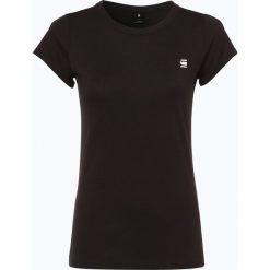 G-Star - T-shirt damski – Eyben, czarny. Czarne t-shirty damskie G-Star, xs, z nadrukiem. Za 39,95 zł.