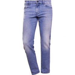Odzież: BOSS CASUAL Jeansy Straight Leg turquoise/aqua