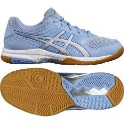 Asics Buty męskie Asics Gel Rocket 8 niebieskie r. 37.5 (B756Y 3993). Niebieskie buty sportowe męskie marki Asics. Za 200,20 zł.