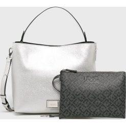 Liu Jo - Torebka. Szare torebki klasyczne damskie Liu Jo, w paski, z materiału, średnie. Za 599,90 zł.