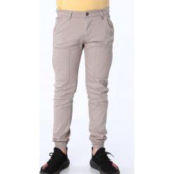 Spodnie chłopięce: Spodnie chłopięce z gumkami beżowe NDZ105